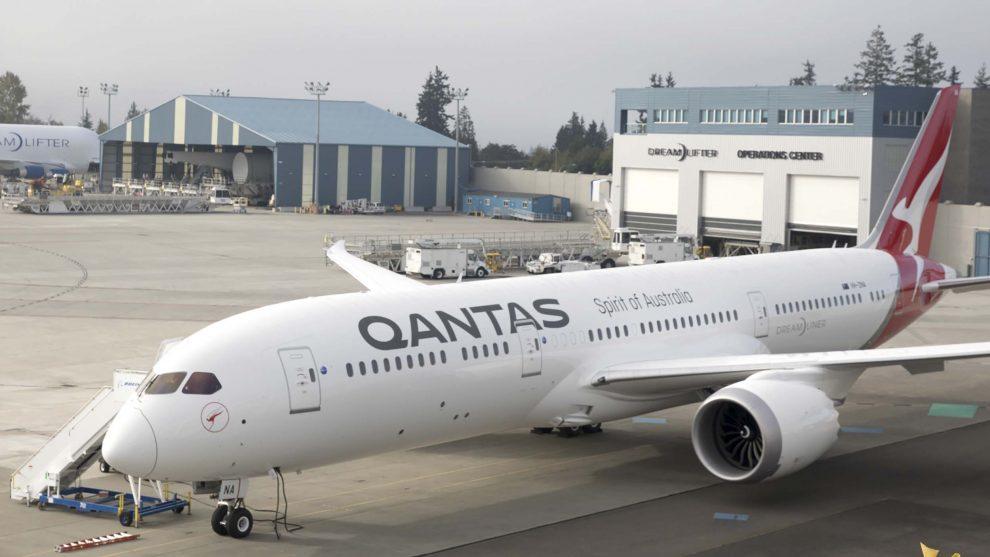 Qantas hace el primer vuelo con biocombustible entre Estados Unidos y Australia