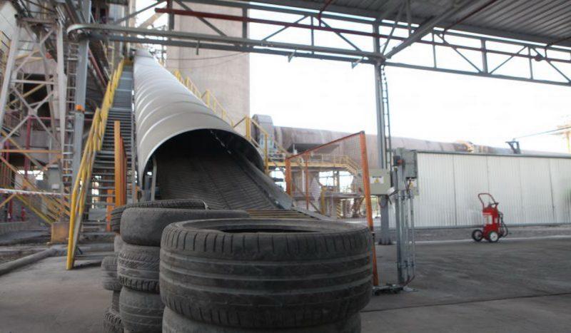 Jujuy tuvo su primera Neumatón, la iniciativa que recicla neumáticos usados para elaborar cemento