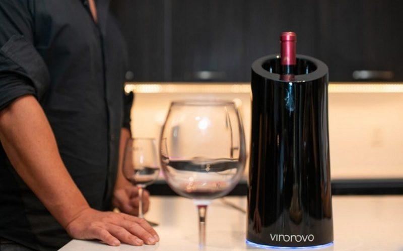 Vino Novo, el dispositivo que transforma el vino barato casi en un reserva en solo 10 minutos