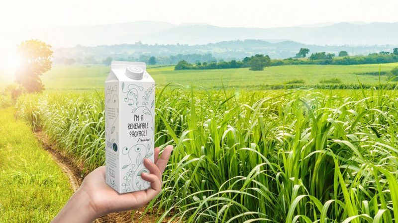 Tetra Pak es la primera empresa de packaging de alimentos que utiliza biopolímeros completamete trazables