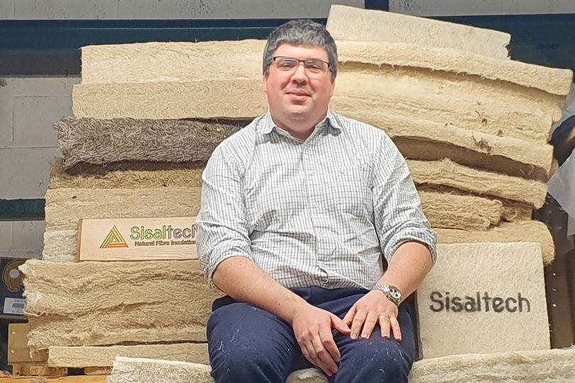 La apuesta de un emprendedor escocés por aislantes fabricados con fibras del sisal