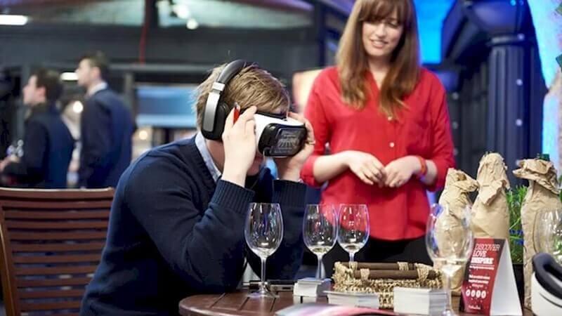 Realidad virtual: la nueva apuesta de las bodegas para captar al público jóven