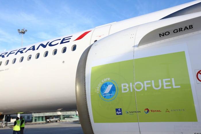 Francia obligará a las aerolíneas a utilizar biocombustibles