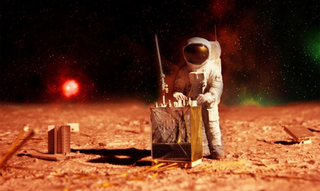 Por primera vez logran cultivar alimentos en suelo lunar y marciano