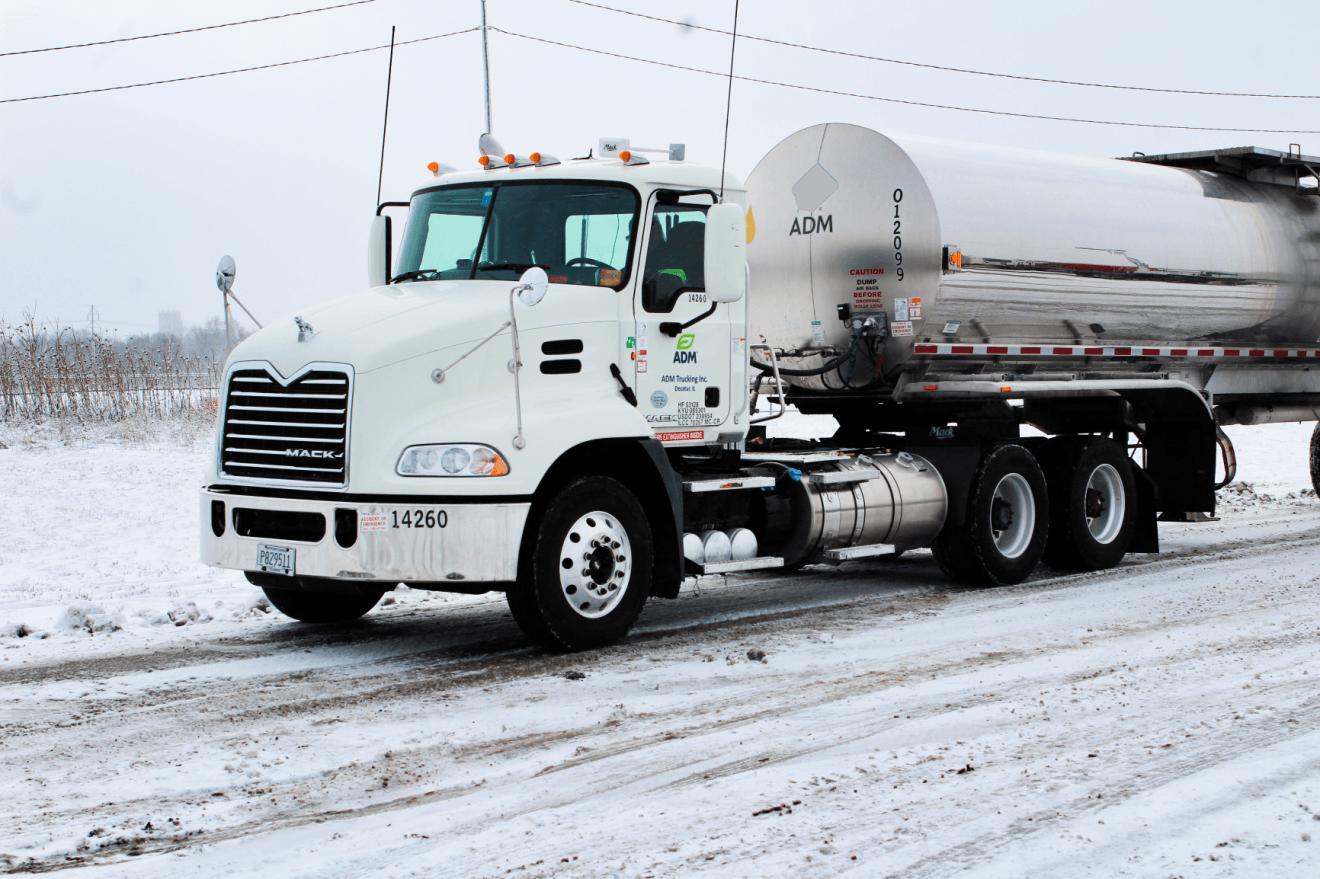 Para demostrar su viavilidad, ADM pone 5 camiones viejos a funcionar con biodiesel