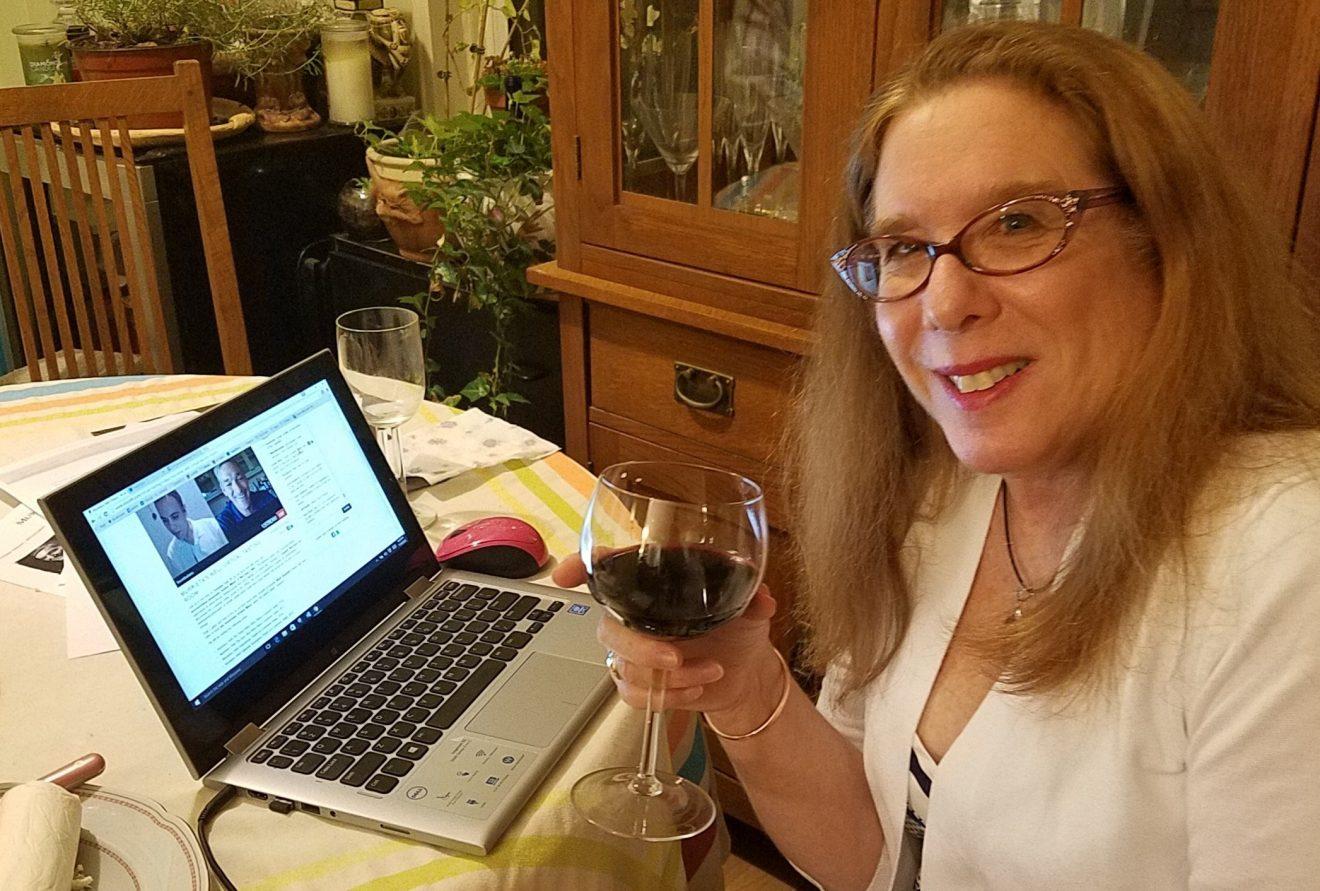 Catas virtuales, la forma de seguir disfrutando del vino con amigos en tiempos de cuarentena