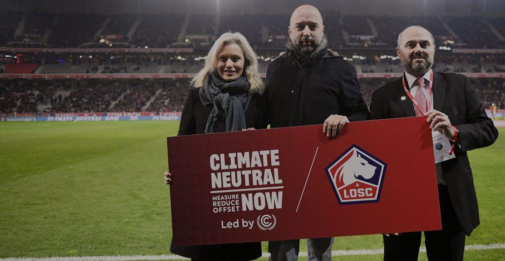 El club de fútbol Lille se compromete a alcanzar la neutralidad de carbono 2