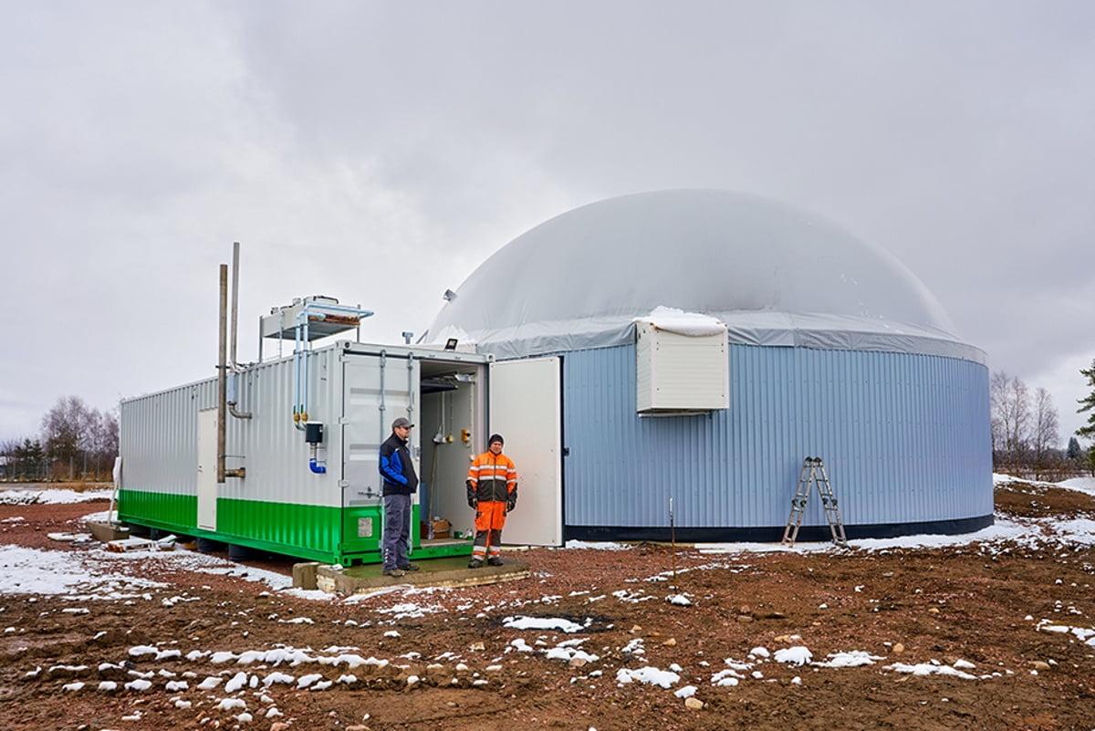 De las vacas al tanque: la granja finlandesa que decidió reemplaza el diesel con biometano