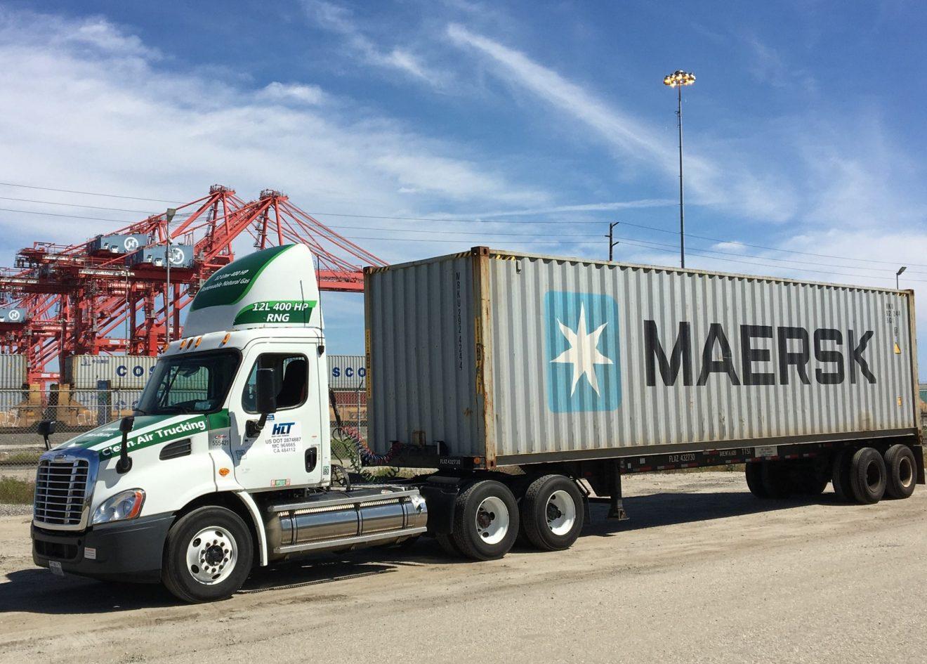 Chevrón profundiza su iniciativa de reducir la contaminación de los puertos de Los Ángeles con el poder de las vacas