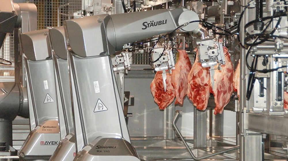 La pandemia acelera la automatización en la industria de la carne