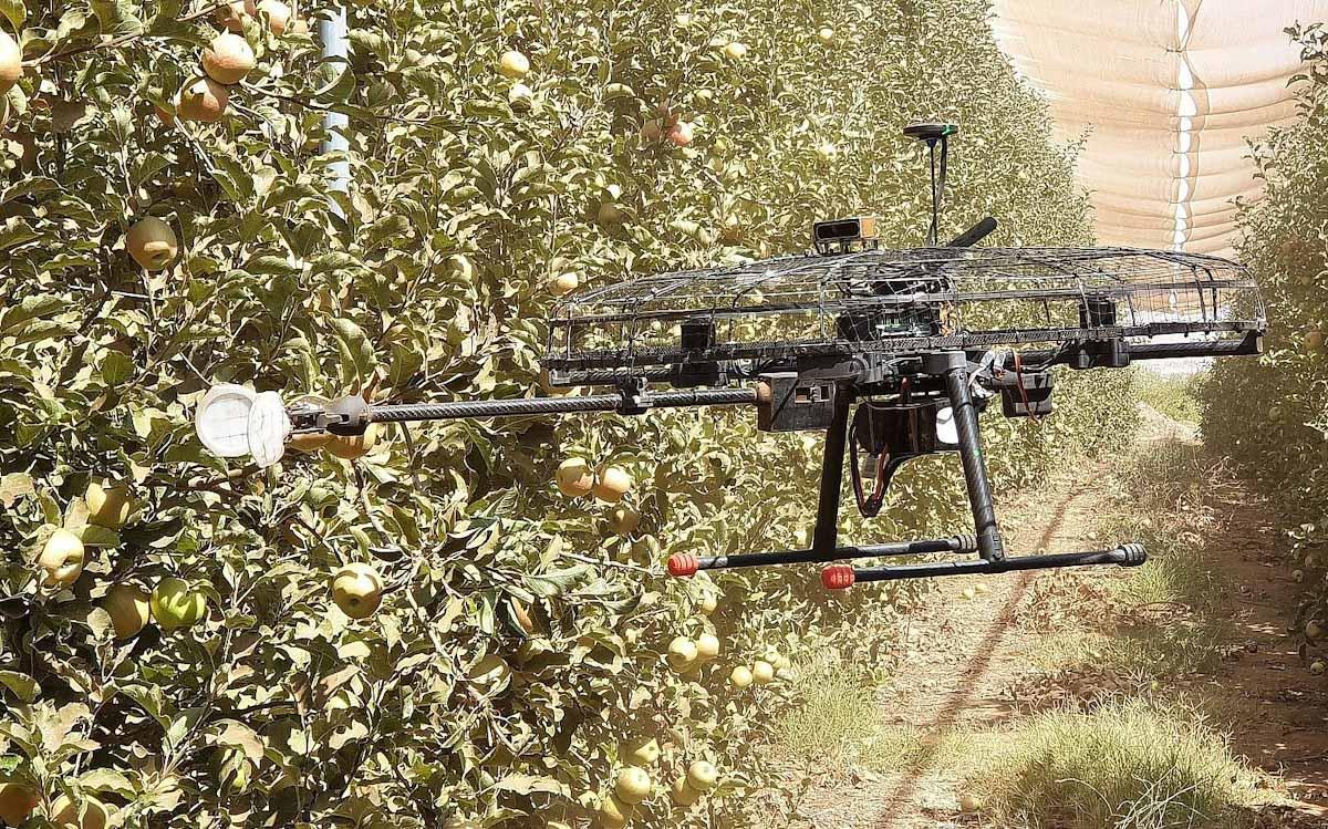 Bienvenidos a la era de la cosecha con drones