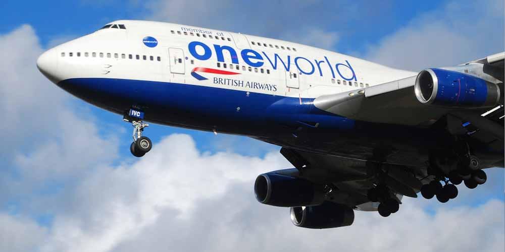 Aerolíneas de la Alianza One World se comprometieron a reducir sus emisiones netas a cero para 2050