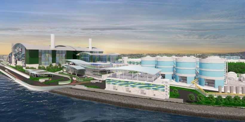 Singapur: economía circular y energía renovable en novedoso proyecto que integra tratamiento de aguas residuales y residuos sólidos