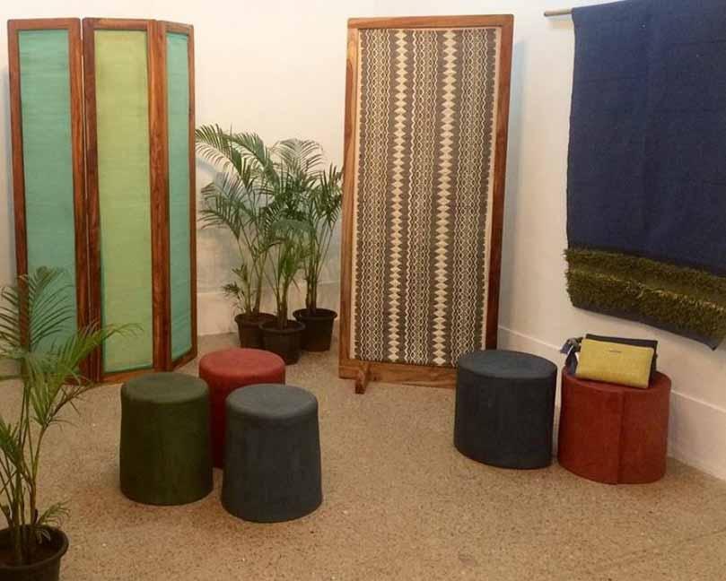 Pulp Factory, el estudio de diseño que convierte papel usado en muebles 100% biodegradables y resistentes al agua