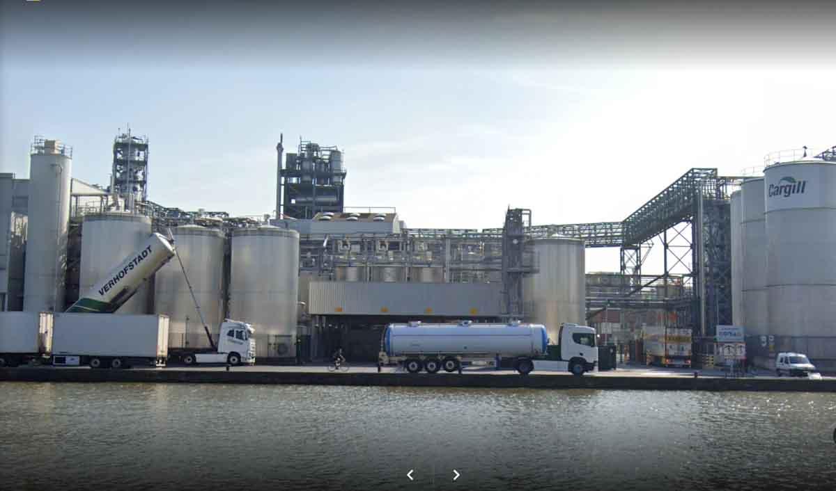 Cargill invierte en Bélgica 150 MM de euros para producir biodiesel a partir a aguas residuales y aceites reciclados