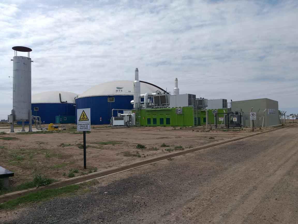 ASA inauguró cluster semillero que producirá energía y bio fertilizantes