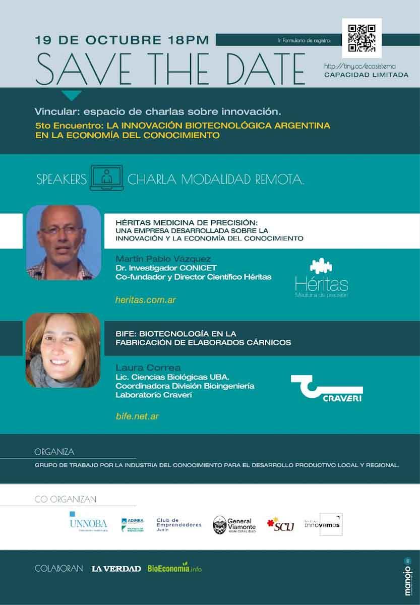 La innovación biotecnológica argentina en la economía del conociemiento