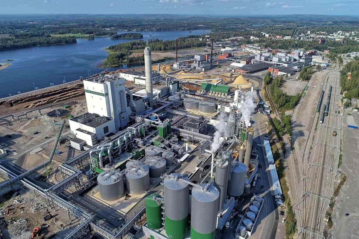 El grupo Metsä construye una planta piloto para producir fibras 3D