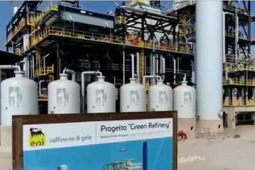 Italia: Eni puso en marcha una biorrefinería construida sobre una vieja refinería de petróleo