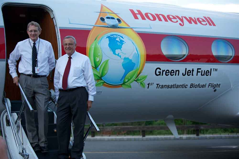 El nuevo turbogenerador de Honeywell alimentará aviones híbrido-eléctricos con biocombustible
