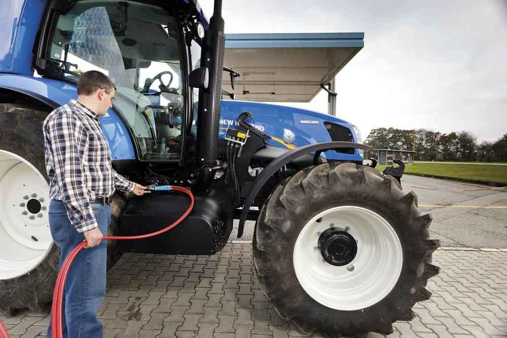 New Holland lanzará este año tractores propulsados a biometano