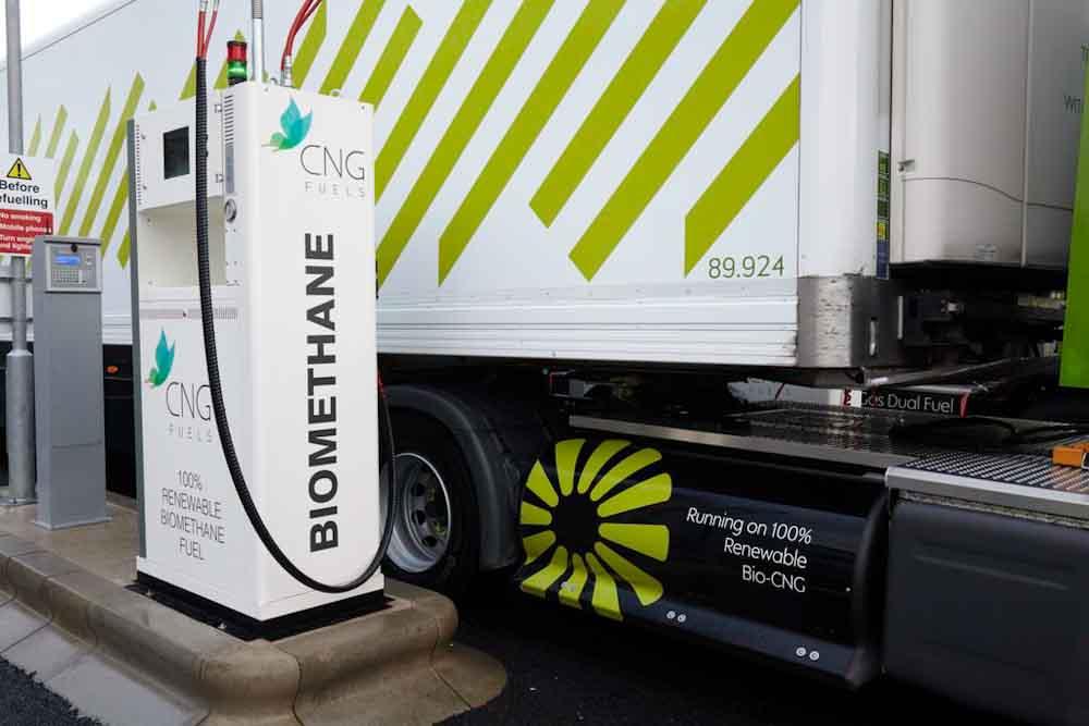 Reino Unido: el biometano se posiciona como la alternativa para descarbonizar el transporte pesado
