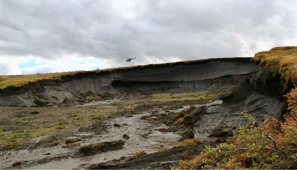 El derretimiento del Ártico está liberando toneladas de carbono y amenaza el cumplimiento de los objetivos climáticos globales