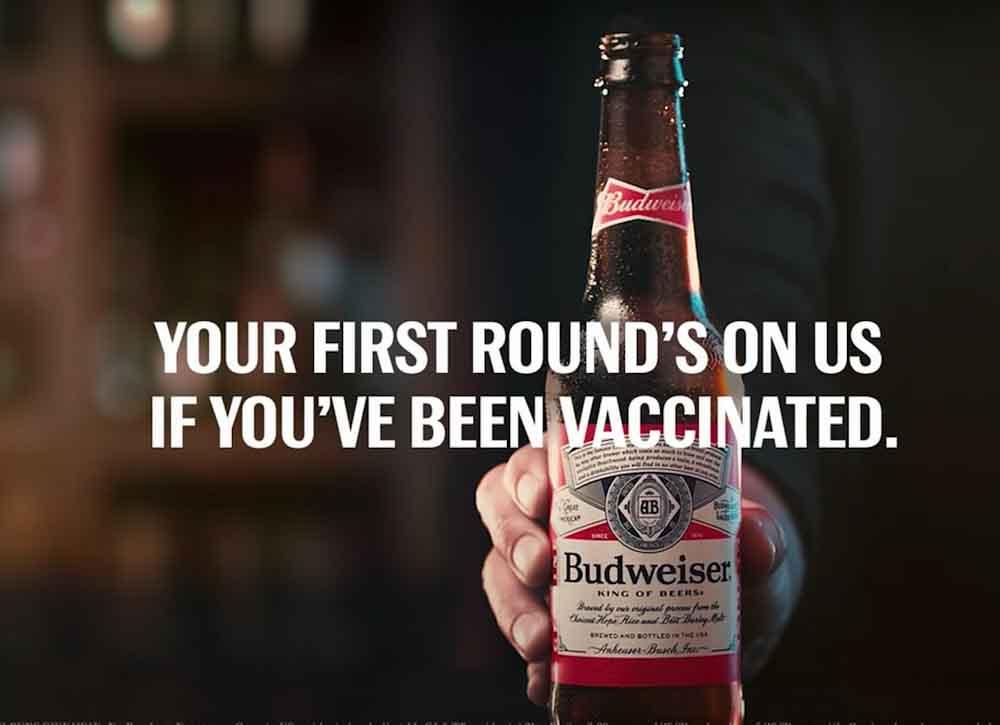 Cerveza gratis para todos si los estadounidenses se vacunan antes del 4 de julio