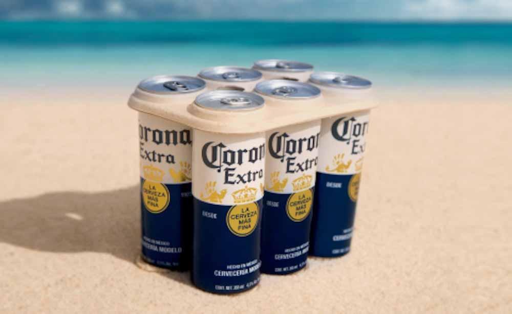 Corona es la primera marca mundial de bebidas en alcanzar el 'cero neto' en su huella de plástico
