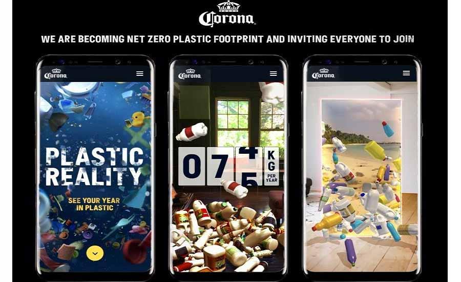 Corona es la primera marca mundial de bebidas en alcanzar el 'cero neto' en su huella de plástico 2