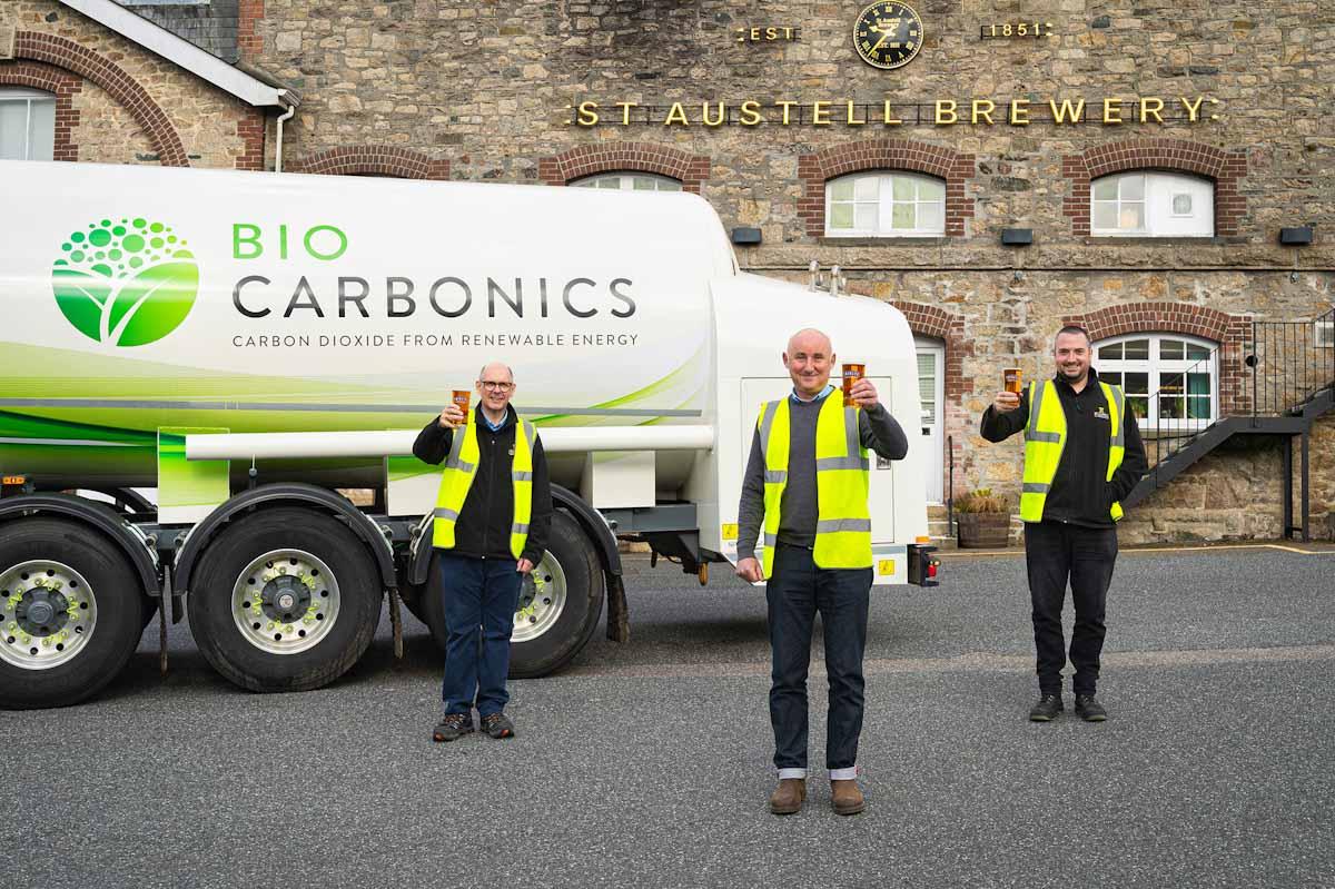 El Príncipe de Gales inaugura una instalación de captura de CO2 verde 2