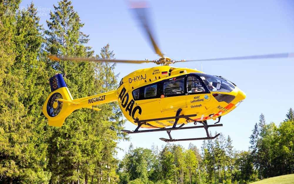 Helicóptero de rescate vuela por primera vez con combustible de aviación sostenible