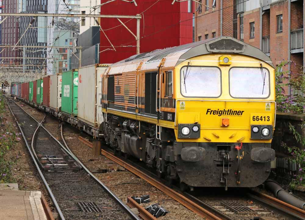 Freightliner pruba biogas e hidrogeno en locomotora