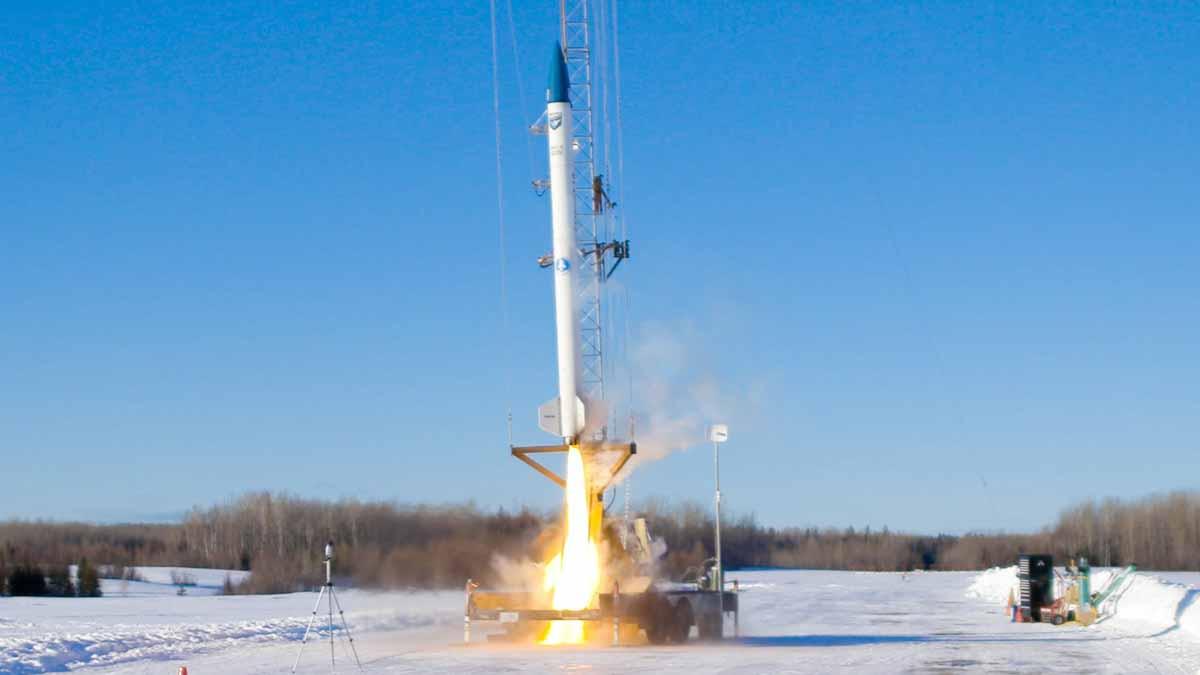 BluShift, la startup de lanzamiento de cohetes con biocombustibles cerró su primera venta